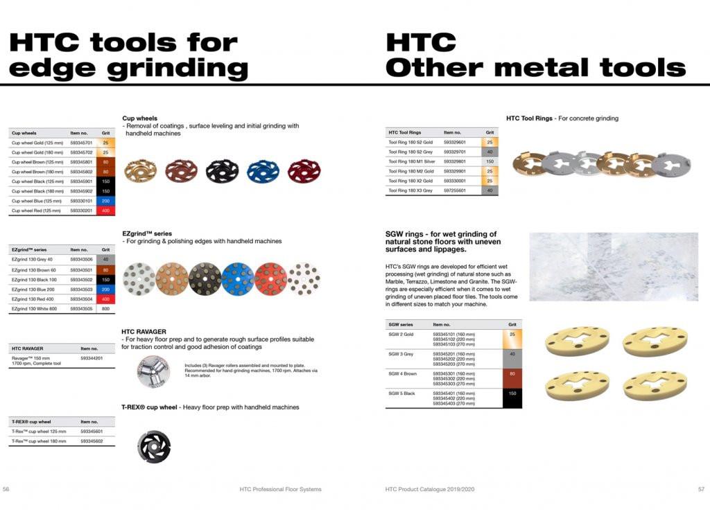 HTC PREMIUM DIAMOND TOOLS