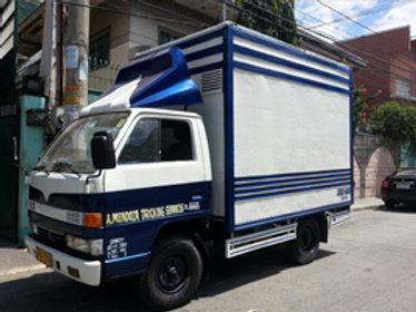 Aluminum Van or Close Van Truck (Blue)
