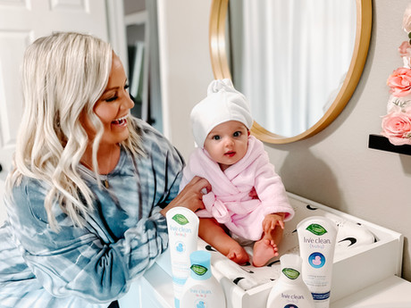 Our love for LIVE CLEAN® Baby