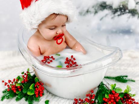 At Home Milk Bath