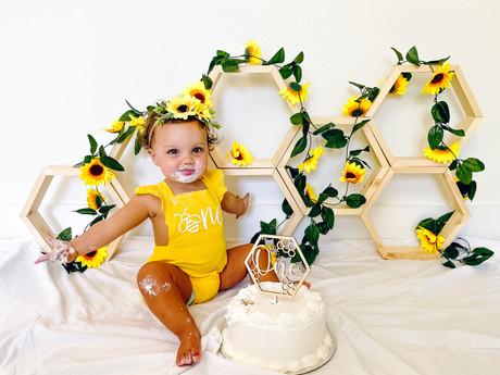 Blakely's 1st Birthday Photoshoot
