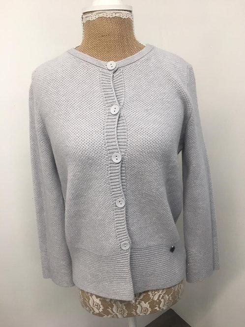 Button down cardigan grey