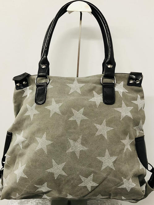 Star bag grey