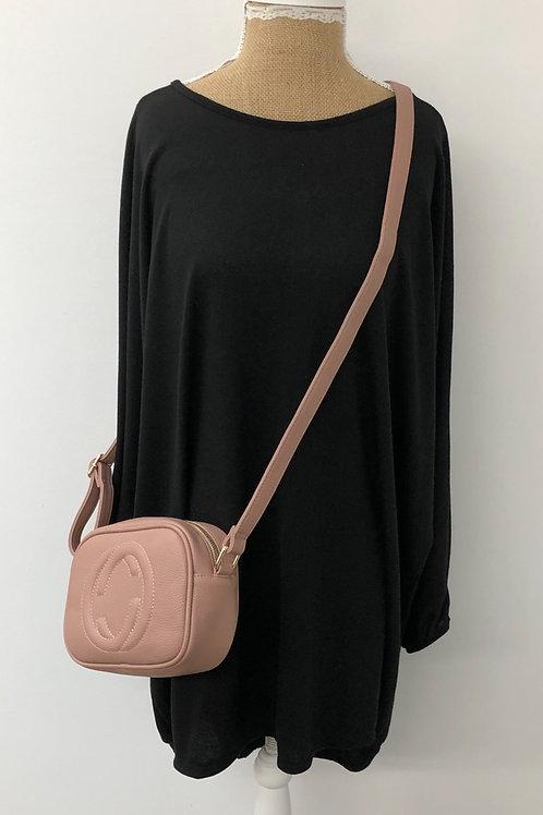 Designer inspired bag blush