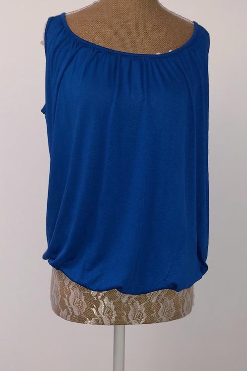Bubble vest blue