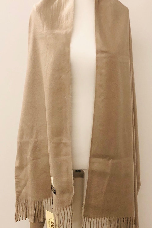 Cashmere scarf in oatmeal