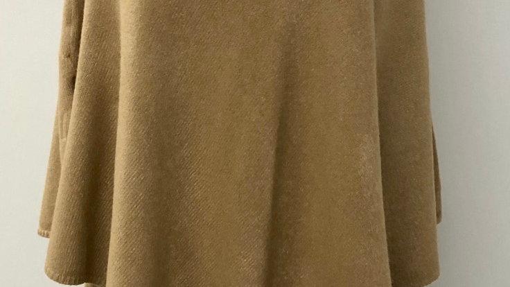 Plain tan poncho