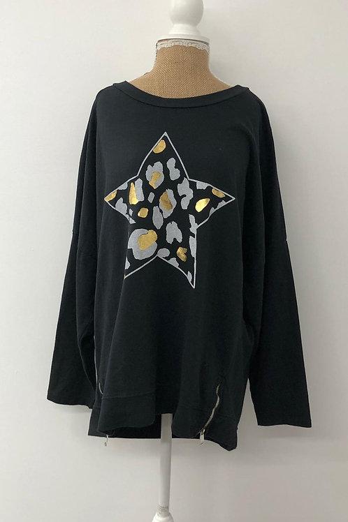 Black star sweater