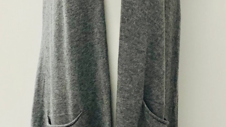 Long line waistcoat grey