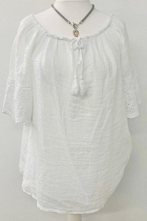 Emme blouse white