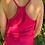 Thumbnail: Silk racer back vest fuchsia