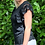Thumbnail: Black tee with anglaise sleeve