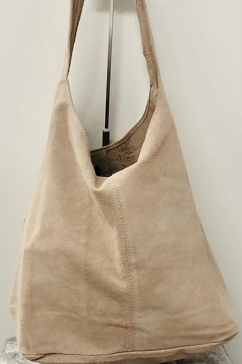 Boho bag in soft pink