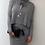 Thumbnail: Grey knitted dress set