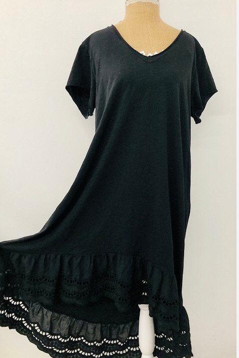 Kayla dress in black