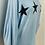 Thumbnail: Star jumper baby blue