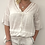 Thumbnail: White sparkle trim shorts