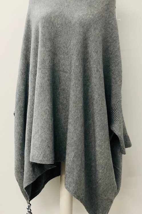 Tassel ponch grey