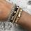 Thumbnail: Gold faux leather wrap