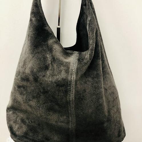 Boho bag in grey
