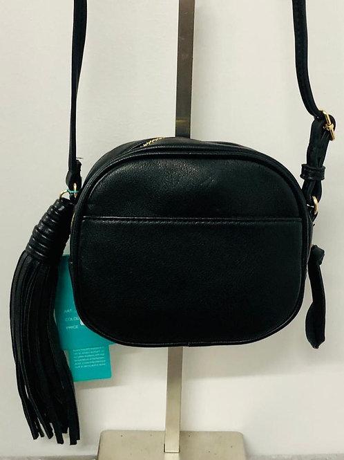 Mini tassel bag blk