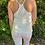 Thumbnail: Silk racer back vest white