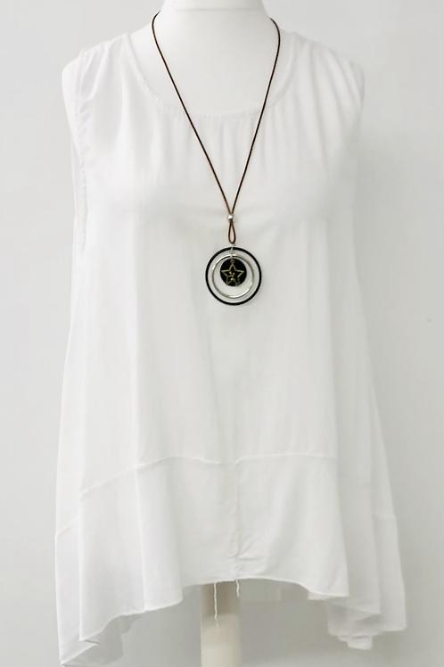 Hetty blouse White