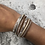 Thumbnail: Nude faux leather wrap