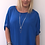 Thumbnail: Everly sequin blouse blue