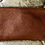 Thumbnail: Leather wrist purse in brown