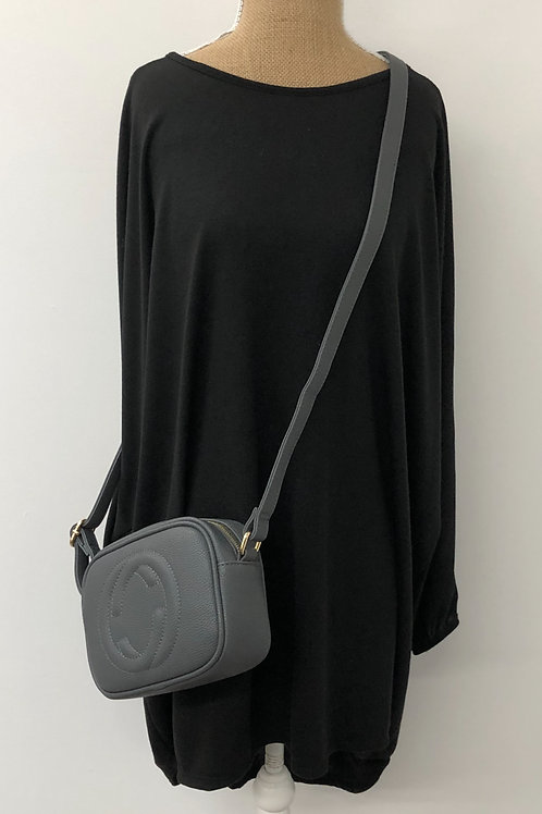 Designer inspired bag Grey
