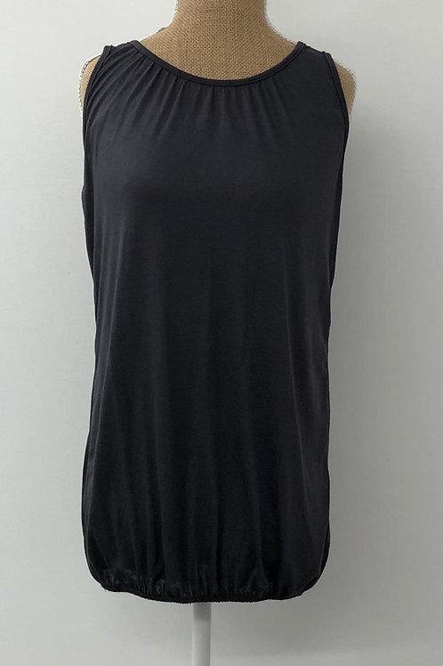 Grey bubble vest