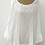 Thumbnail: Linen blouse with frill trim