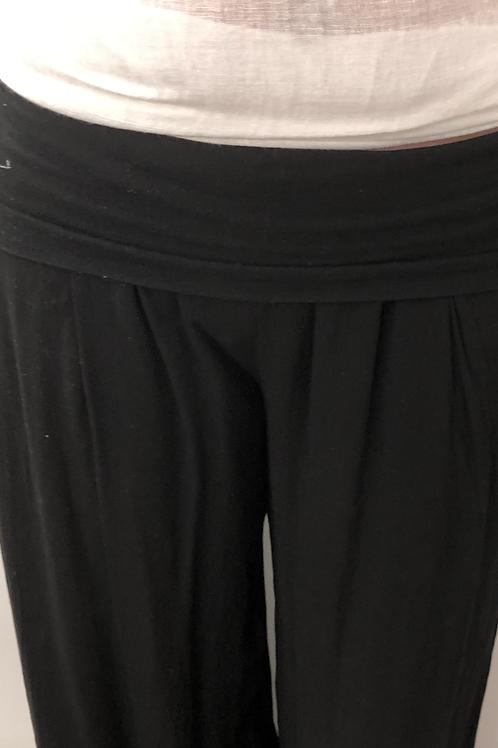 Black langen trousers S/M