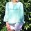 Thumbnail: Grace blouse turquoise