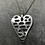 Thumbnail: Holed heart necklace