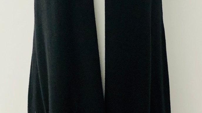 Long line waistcoat black