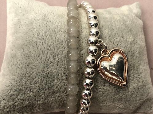Elasticated bracelet