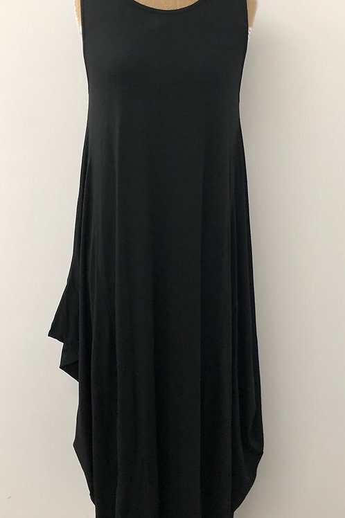 Parachute dress black