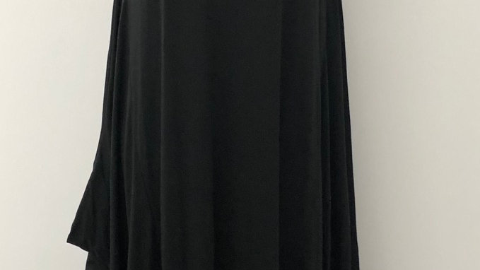 Parachute dress black