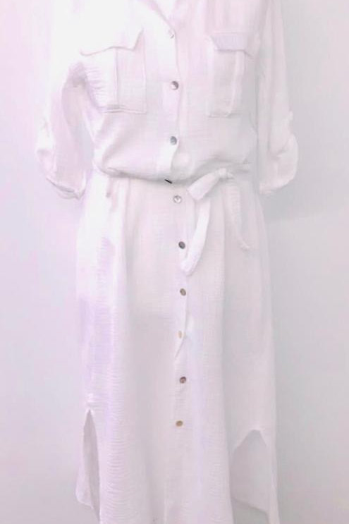 Esme Dress white