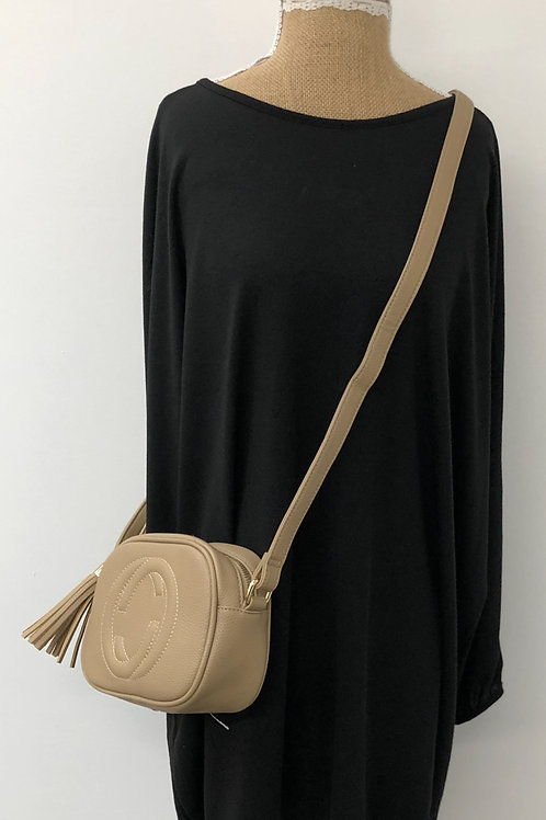 Designer inspired bag Tan