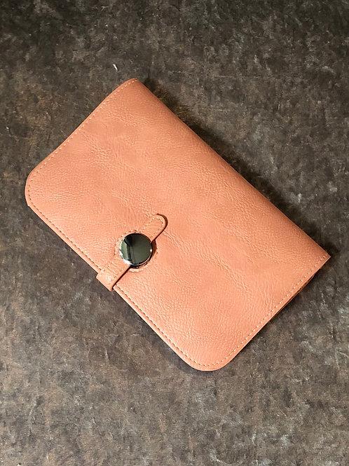 Wallet nude pink