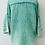 Thumbnail: Lily cheese cloth blouse turquoise aqua