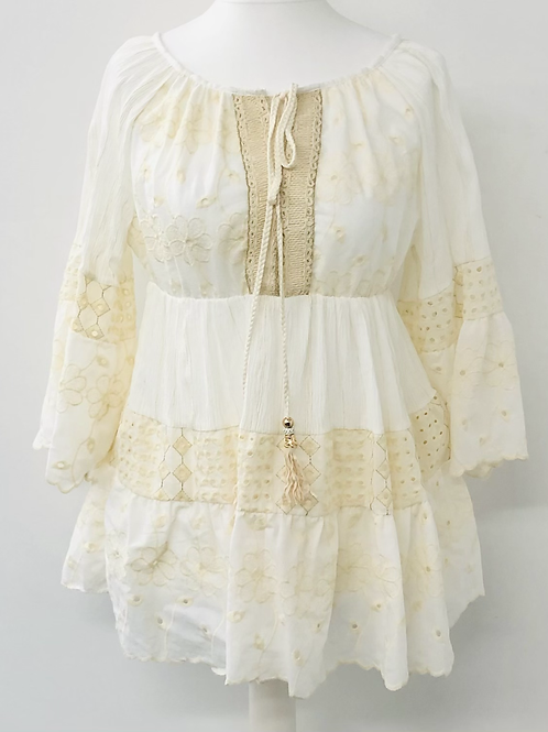 Vanilla Embroidery anglaise blouse
