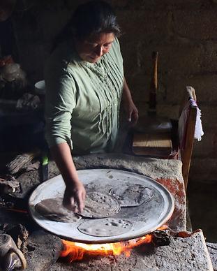 Tortillas hechas a mano