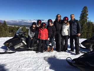 Snowmobile Tours - Cost Effective, Easy, Outdoor Fun For All Ages