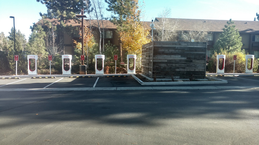Charge your vehicle at the main office during the tour