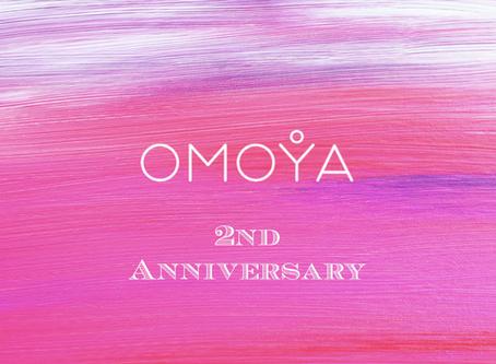 本日3月17日、「みんないいな」の日にOMOYA Inc.は2周年を迎えました!