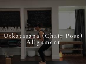 Breaking Down Utkatasana (Chair Pose)